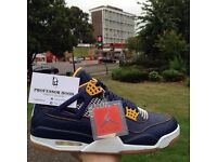 Nike air Jordan 4 retro Dunk from above UK 9