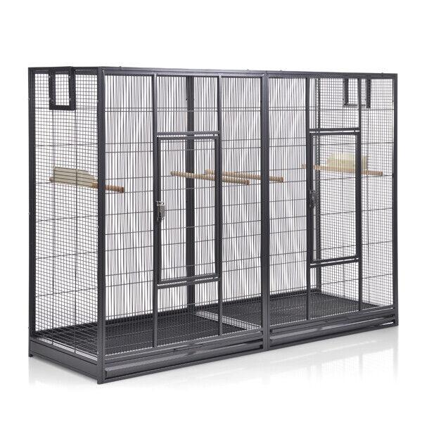 XXL Vogelkäfig Voliere für Sittiche Melbourne II  Antik von Montana Cages