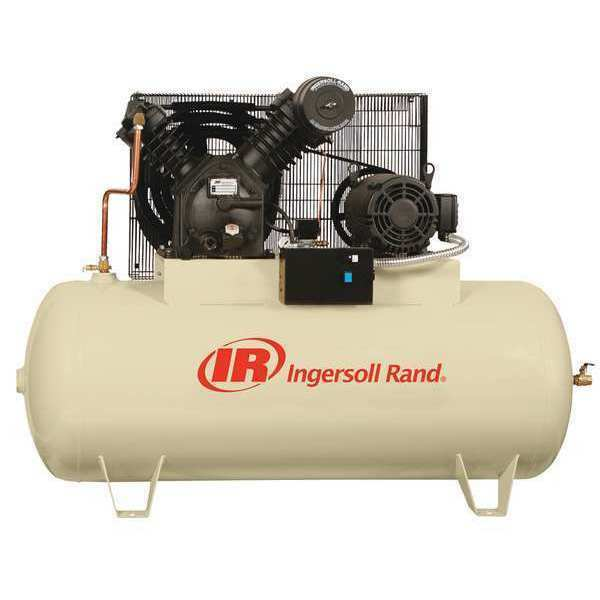 INGERSOLL-RAND 2545E10V Electric Air Compressor, 2 Stage, 10 HP G2682023