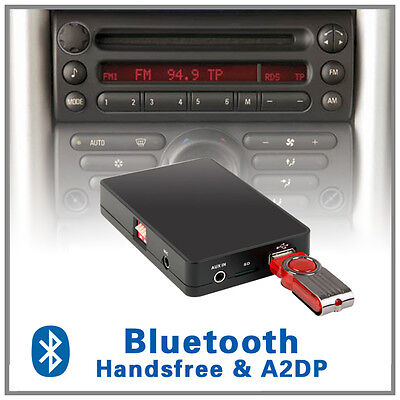 Car Stereo Bluetooth handsfree A2DP MP3 CD changer adapter-Mini Cooper R50 52 53