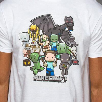 OFERTA Camiseta Minecraft Party OFICIAL