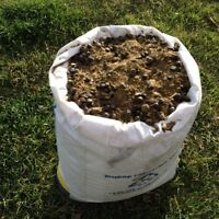 All natural goat and chicken manure