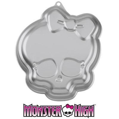 Wilton Monster High Theme Cake Pan NEW 2105-6677  Aluminum Shape Pan - Monster High Birthday Theme