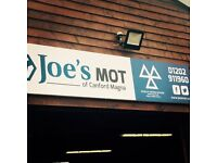 Vehicle Technician/MOT Tester - Full Time