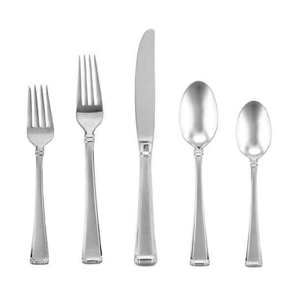 Valcourt by Gorham Stainless Steel Flatware Set Service for 8 New 40 pieces