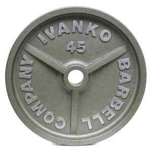 Looking for Ivanko weight plates