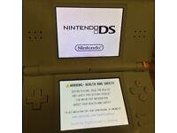 Nintendo DS Lite in special Cyan colour