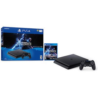 Sony CUH-2115B PlayStation 4 Slim 1TB Star Wars Battlefront II Bundle
