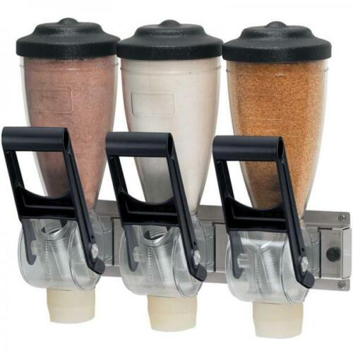 Server 86650 Dry Product Dispenser Triple 1 Liter Hopper