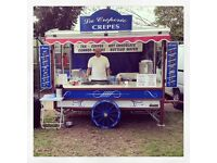 Crepe catering business