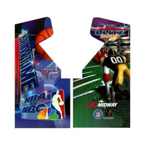 NFL Blitz - NBA Showtime Arcade Side Art on Premium 3M Vinyl