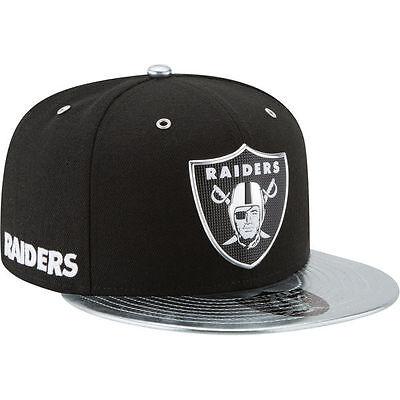 Oakland Raiders 2017 Nfl Draft Spotlight Fitted Cap 5950 New Era Hat   Black