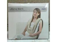Umama Warm, neck, shoulders, and back massager. Brand new.