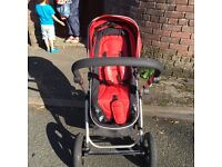 I safe pushchair