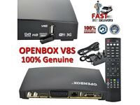Openbox with 8GB stick, set of Wireless Ethernet Adapters & 12 Month Gift