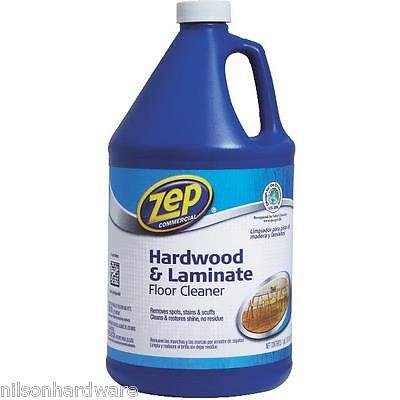 8 Gal Zep Commercial Hardwood & Laminate Floor Cleaner ZUHLF128 Commercial Hardwood Floor Cleaner