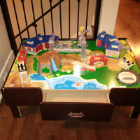 Train Table + Accessories