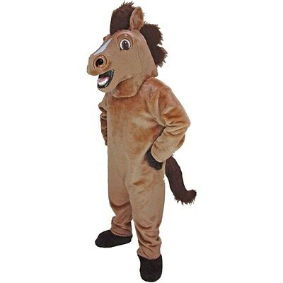 Friendly Horse Professional Quality Mascot Costume Adult Size