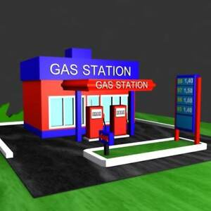 BRANDED GAS STATION FOR SALE WITH THE PROPERTY