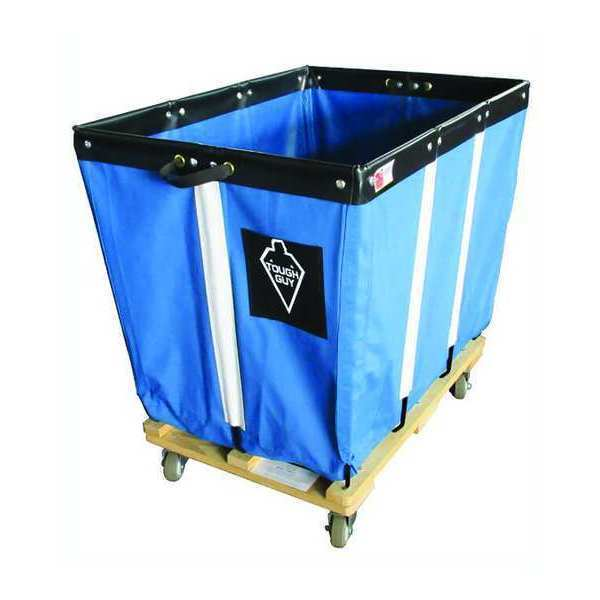 TOUGH GUY 33W303 Basket Truck,6 Bu. Cap.,Blue,30 In. L