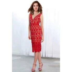 Red lace dress on Get Grace Gift