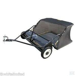 RIDE ON MOWER LAWN SWEEPER TRACTOR TOWED 38