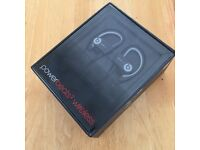 New and unopened powerbeats 2 wireless beats by dr.dre black