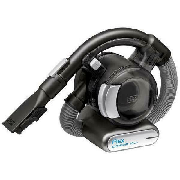 Black+Decker 20V Max* Lithium Flex Hand Vacuum, Bdh2020Fl