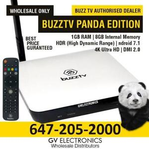 BUZZTV XPL 3000 PANDA  *WHILE QUANTITIES LAST-WHOLE SALE ONLY