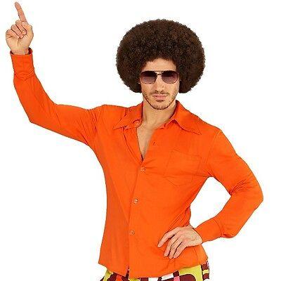 D Herren orange - Kostüm Zubehör Schlager Motto Party S-XXL (Kostüm Orange)