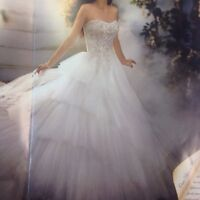 New with tags wedding gown