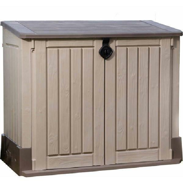 Outdoor Storage Shed Garden Lawn Backyard Patio Pool Box Floor