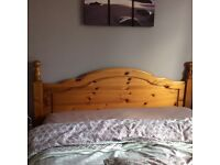 Pine bedroom and home accessories