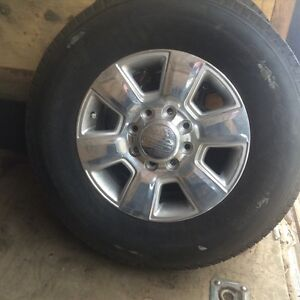 "New 18"" Dodge Ram 3500 (longhorn rims and tires)"