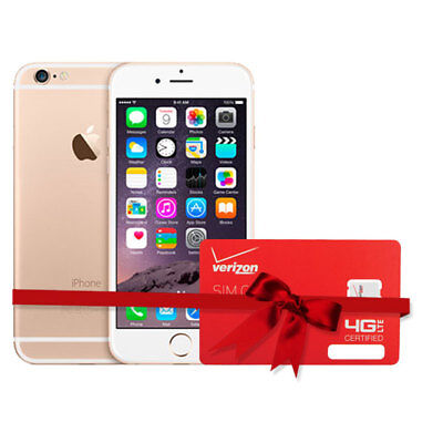 Apple Iphone 6 With Verizon $50 1 Month Plan