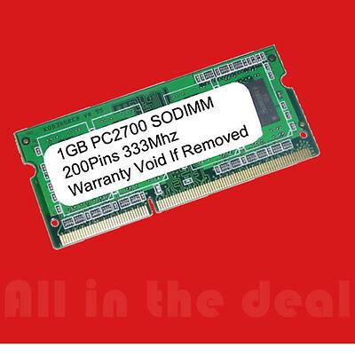 1GB HP Pavilion DV1000 DV4000 DV5000 DV8000 MEMORY RAM