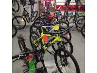 Bikes / bicycles / berg go karts/ trampolines/ electric bike