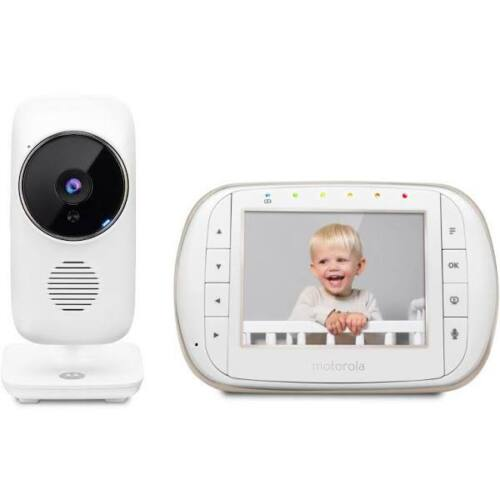 "Motorola MBP668CONNECT 3.5"" Video Baby Monitor with Wi-Fi"