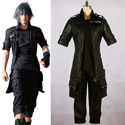 FF Final Fantasy 15 XV Noctis Noct Lucis Caelum Cosplay Kostüm Costume Schuhe