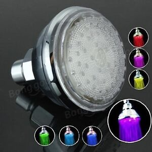 LED SHOWERHEAD *No batteries Needed *Brand New