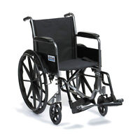 Discounted NEW IN BOX manual folding Wheelchair easy to fold - O