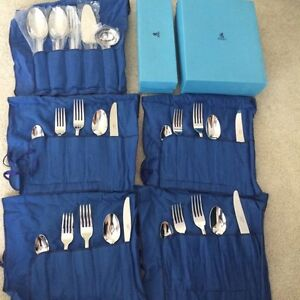 Birks Stainless Steel cutlery and serving set - REDUCED