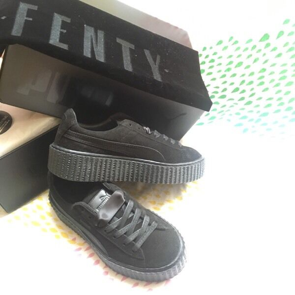 PUMA by Rihanna Creeper - Size UK 3 Black. Vauxhall £200.00 19b476b6d