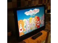 "22"" HD TV DVD FREEVIEW"
