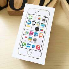 Pre owned iPhone 5S Gold 32G UNLOCKED in box with everything Calamvale Brisbane South West Preview