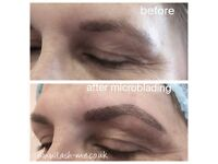 Microblading. Semi-permanent eyebrows