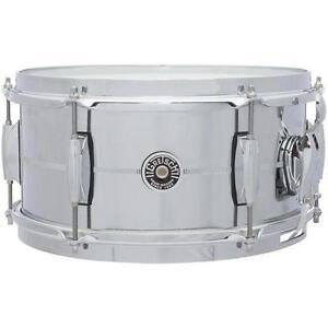 "New Gretsch 6x12"" Brooklyn snare."