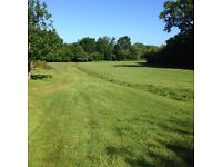 Unfenced outdoor space/ land (allotment, garage, stable, yard, storage, light grazing, etc.)