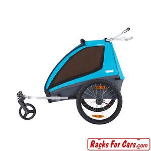 Thule Coaster XT Bike Trailer and Stroller for 2 Children Edmonton Edmonton Area image 4
