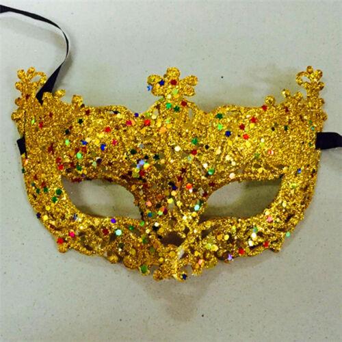 UK Women Mask Venetian Fairy Eye Mask Halloween Masquerade Partys Carnival Balls